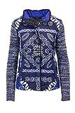 Desigual Jacke Damen 18WWJFA7 m Blau
