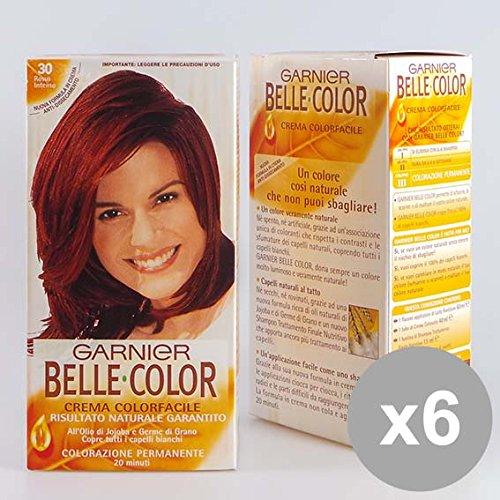 Set 6 BELLE Color 30 Rosso Intenso Colorazioni per capelli