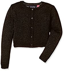 The Childrens Place Girls Cardigan (207022801_Black_XL (14))