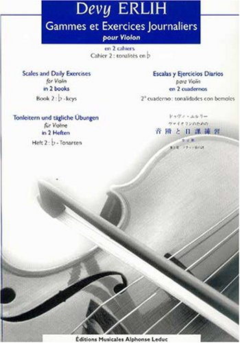 Devy Erlih: Scales and Daily Exercises for Violin Book 2 (Violin Solo)