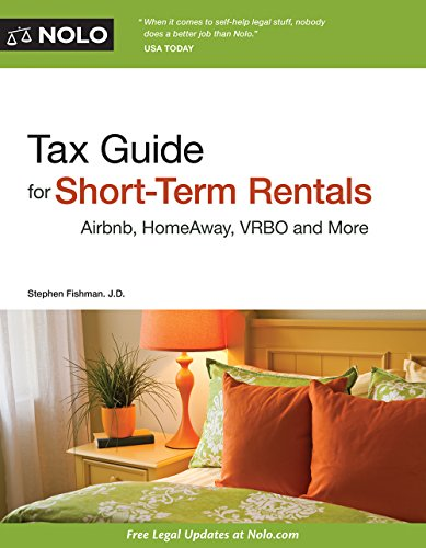 Read Pdf Tax Guide For Short Term Rentals Airbnb Homeaway Vrbo And More Pdf Best Seller By Stephen Fishman Zghbgfwe4323