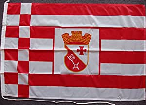 Flagge Fahne Vegesack, ca. 30 x 45 cm, 160 g/m² Polyesterwebware Premiumqualität