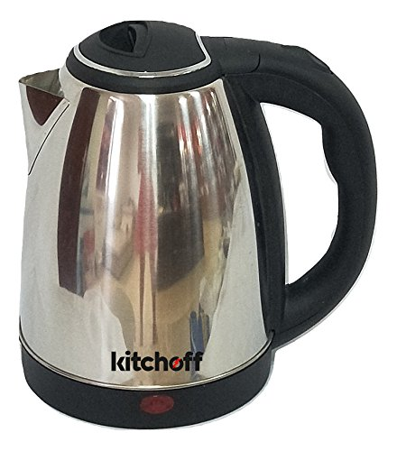 Kitchoff Automatic Stainless Steel Electric 1.8 Litre Kettle for Home & Office(Kl4)