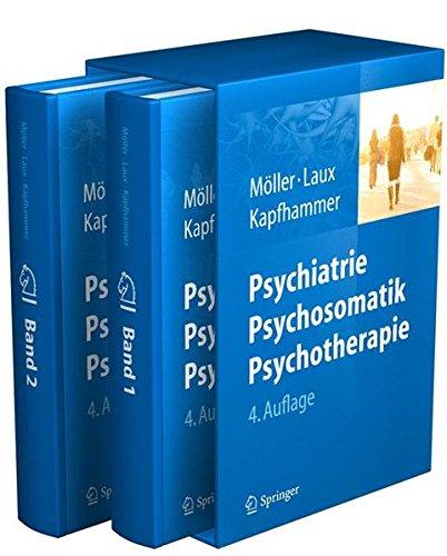 Cover »Psychiatrie, Psychosomatik, Psychotherapie«