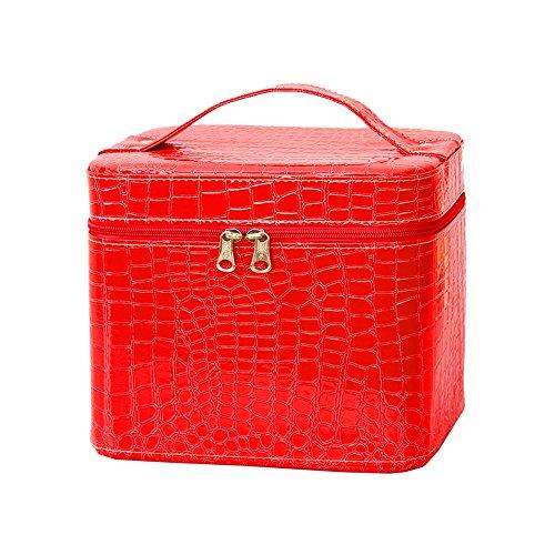 Cosmetic Bag Storage Box / Bag Wash portatile storage box / grande capacità Portable Storage Box (8 colori facoltativi) ( colore : A )