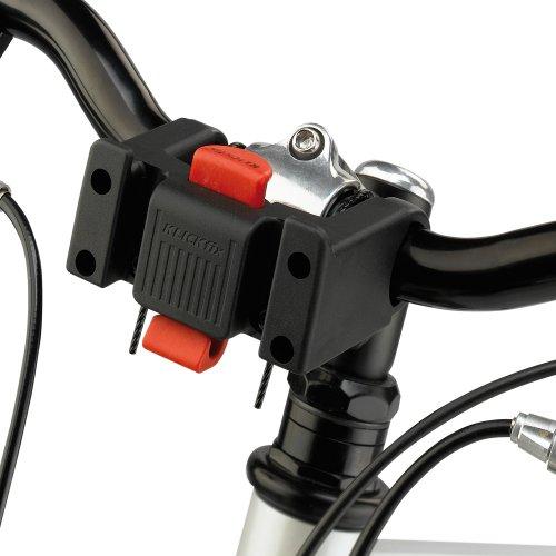 Ferplast 73021299W1 Atlas Bike 20 Rapid Hunde Fahrradtransportbox, 47 x 35.5 x H 34.5 cm, grau