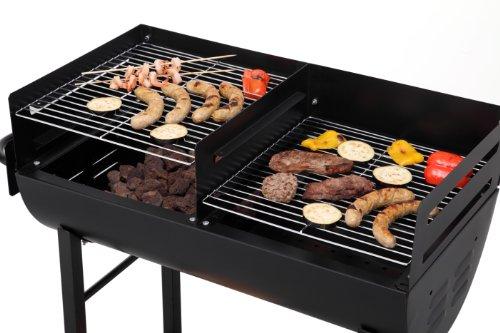 Tepro 1037″Detroit Barbecue a carbonella con trolley - 3