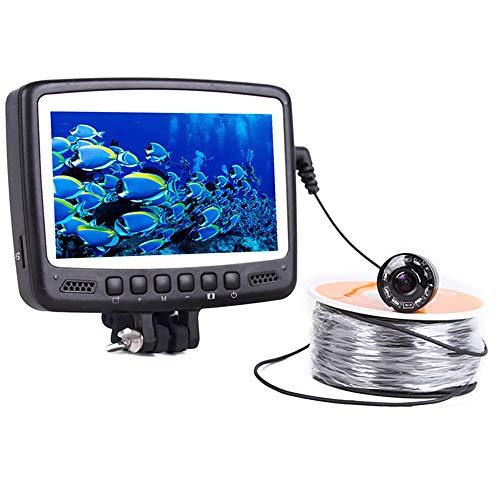 Xianxian88 Portable 4,3 Pouces LCD Moniteur Fish Finder 800TVL caméra de pêche imperméable à l'eau de Poissons Finder, 8 LED Infrarouge pour la pêche au lac de Glace Bateau de Kayak de mer