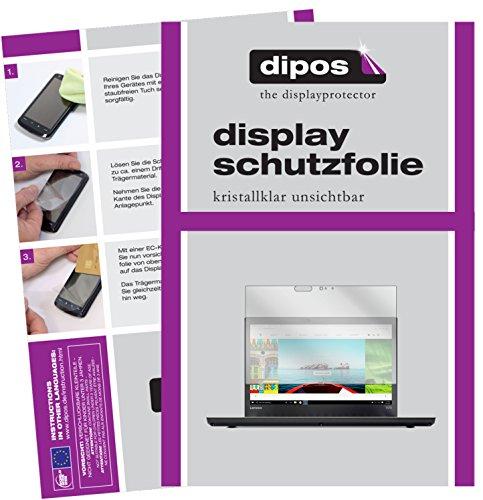 dipos I 2X Schutzfolie klar passend für Lenovo ThinkPad T470 Folie Bildschirmschutzfolie