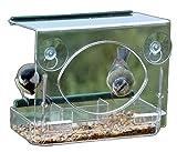 Fenster Futterhaus mit Starter Pack RSPB Wild Vogelfutter