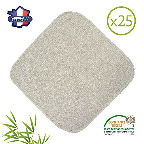 2 lustreuses 1 /éponge 2 Laveuses Bambou Expert/® Lot de 5 Microfibres Bambou Nettoyer et lustrer toutes les surfaces lisses et fragiles