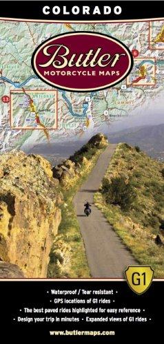 Butler Maps G1 Colorado Motorradkarte