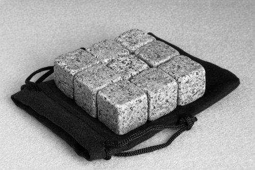 9-stuck-whisky-steine-drink-kuhler-on-the-rocks-granit-farben-schwarz-granit-hell-granit-dunkel-weis