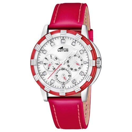 b985471e1aa5 Lotus 15746 3 - Reloj analógico de cuarzo para mujer con correa de piel