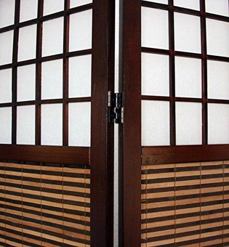 Ghorbani Raumteiler Sondergröße 2 m Höhe Paravent Spanische Wand Sichtschutz 200cm x132cm