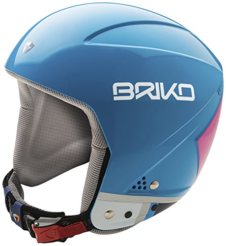 BRIKO VULCANO SPEED JUNIOR Kinderskihelm blau/pink XS 52cm