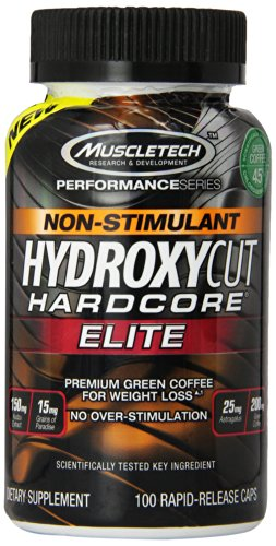Muscletech Hydroxycut Non Stimulant Hardcore Elite 100 Capsules  available at amazon for Rs.2480