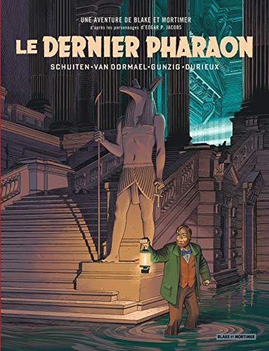 Autour de Blake & Mortimer - tome 11 - Dernier Pharaon (Le) par Schuiten François, Van Dormael Jaco, Gunzig Thomas