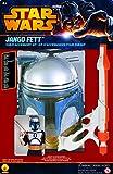 Original Lizenz Jango Fett Blister Kit Kostüm Mandalorianer Kopfgeldjäger Blaster Galaktischen Republik Mandalor Gr. 110 / 116