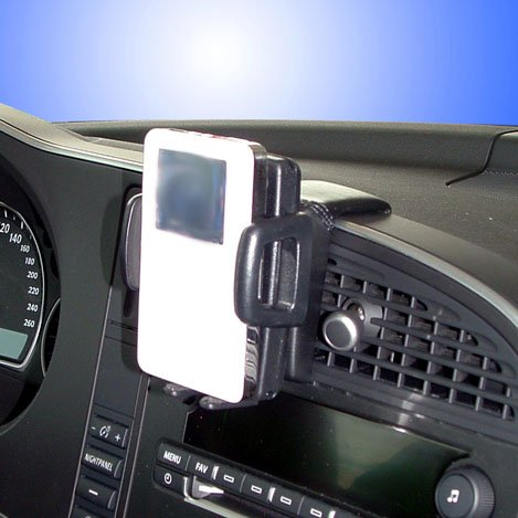 kuda-console-de-navigation-pour-navi-saab-9-3-a-partir-de-08-06-cuir-veritable-noir