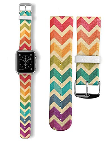 2015-genuine-leather-buckle-watch-band-strap-for-apple-watch-38mm-aztec-pattern-ethnic-elegance