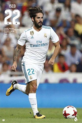 Grupo Erik Editores GPE5214 - Poster 2017/2018 con diseño Real Madrid Isco, 61 x 91.5 cm