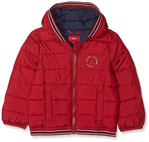 s.Oliver Baby-Jungen Jacke 59.808.51.4335 Rot (Red 3580) 86