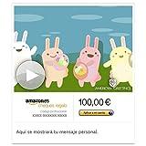 Cheque Regalo de Amazon.es - E-mail - Conejo Conga (animación)