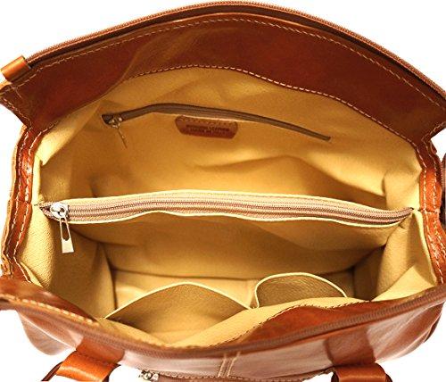 Arzttasche mit Doppelgriff 6543 Bräune