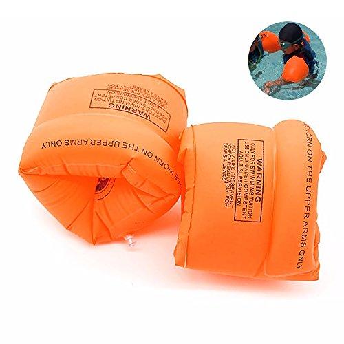 Eizur Kinder Schwimmflügel, Floating Schwimmhilfe Schwimmscheiben Kids Schwimmreifen Schwimmring Armbinden 3-10 Jahre, Doppelte Airbags