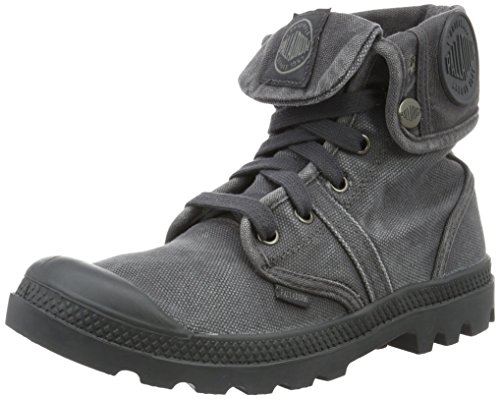 Palladium Pallabrouse Baggy, Stivali Combat Donna, Grigio (Forged Iron/Brush Nickel 084), 38 EU