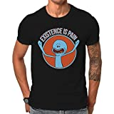 Daviati - Camiseta - para hombre negro negro Medium