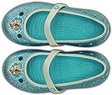 Crocs Frozen, Mädchen Ballerinas, Blau (Pool 40M), 22/23 EU
