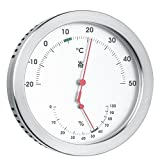 WMF - Termómetro Mate con Higrómetro 11cm Ø