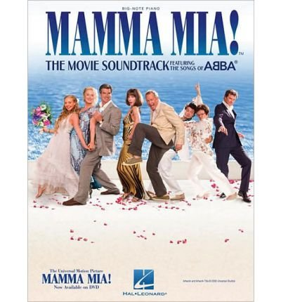[(Mamma Mia!: The Movie Soundtrack Featuring the Songs of Abba - Big Note Piano )] [Author: Abba] [Nov-2009]