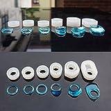 SODIAL 6 Piezas Surtidas de Anillo de Silicona DIY Molde para la Fabricacion de Joyas de Resina Artesanal