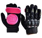 IMPORX Haute Qualité Diapositive Gants/Descente Gants/Freeride Grip Gants Professionnel Protection pour le Cyclisme/Road Race/Skateboard/Longboard/Downhill/Randonnée,Adultes