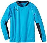 PUMA Kinder Trikot GK Shirt Torwarttrikot, Fluo Blue, 140