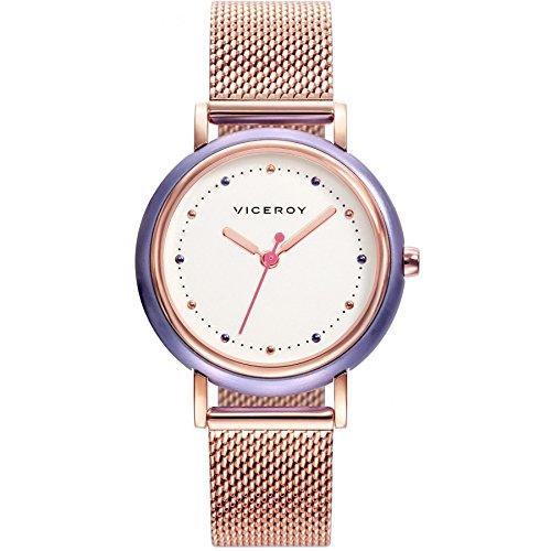 Viceroy Femmes Analogique Quartz Montre avec Bracelet en Acier Inoxydable 471156-09