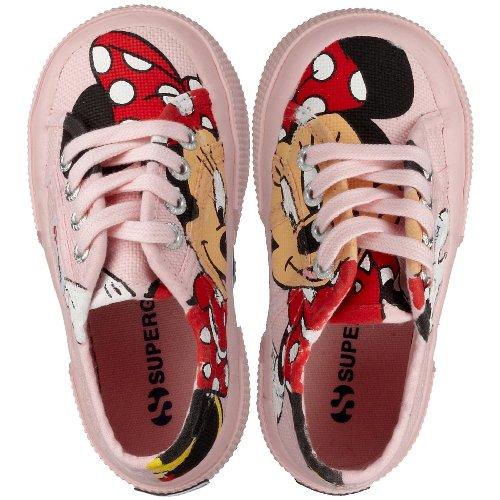Superga2750- DISNEY MINNIECOTJ - Pantofole Bambina , multicolore (Mehrfarbig (Pink F15)), 34 EU