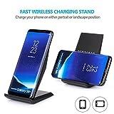 schnell-ladegerät kabellos, nanami wireless charger qi, 2aufnahmehülsen induktion schnelle für samsung galaxy s7/s6/s6edge plus und weitere kompatible geräte qi, schwarz - 51a 2ByKX2Z2L - Schnell-Ladegerät Kabellos, Nanami Wireless Charger Qi, 2Aufnahmehülsen Induktion Schnelle für Samsung Galaxy S7/S6/S6Edge Plus und weitere kompatible Geräte Qi, Schwarz
