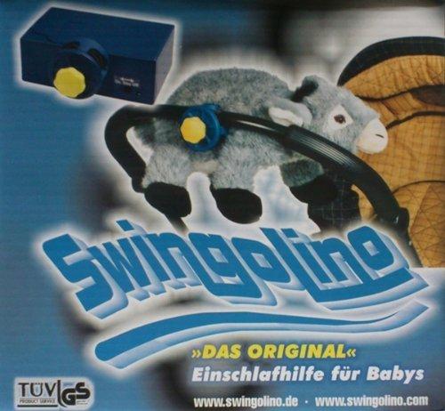 Swingolino Esel 'Das Original' Einschlafhilfe für Babys, automatischer Kinderwagen-Schaukler