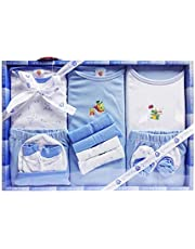 EIO Kidi Wav New Born Baby's Gift Set 13 Piece (Bluee)