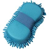 Auto Hub Microfibre Cleaning Sponge Glove - Single Pack
