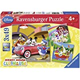 Ravensburger 09247 Disney Mickey Mouse Club House - Puzzles (3 unidades, 49 piezas)