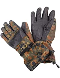 Genuine German Army Issue Cold Weather Goretex Flecktar Camouflage Gloves Grade 1