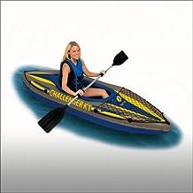 Intex Challenger K1 Kayak canoa gonfiabile a 1 posto con 1 pagaia