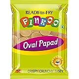 PINKOO Oval Papad (Golgappa/Pani Puri) - 1 Kg