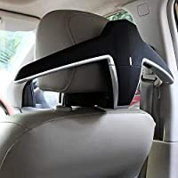 JOYART Car Coat Hanger Headrest Back Seat Coat Hanger Multifunctional Car Hanger for Coat Suit Jacket