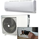 18000 BTU Hitachi Powered Quick Connector Wall Mounted DC Inverter Air Conditioner with 4 metres pipe kit